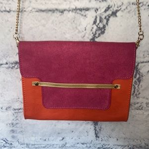 Pureology Pink and Orange Clutch